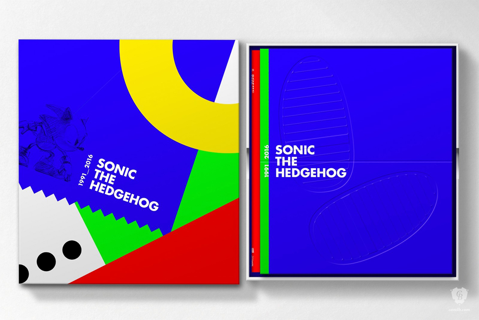 Sonic the Hedgehog 25th Anniv. Art Book