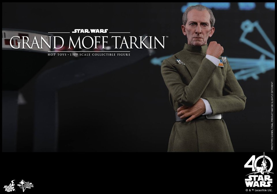 Grand Moff Tarkin Action Figure