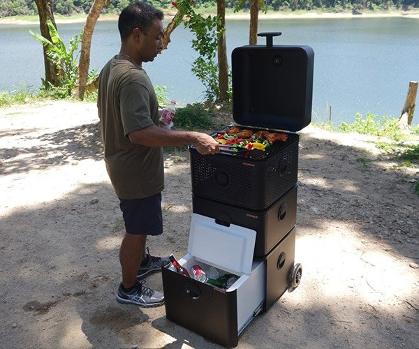 STCKBLS Modular Grill and Cooler