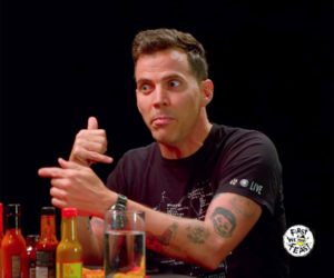 Steve-O vs. Hot Wings