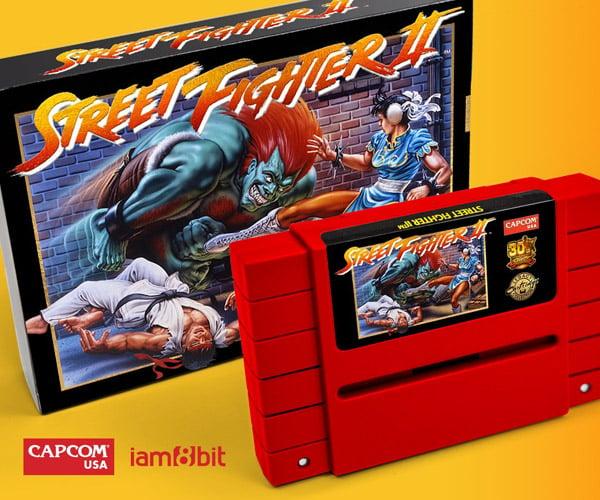 Street Fighter II Legacy SNES Cartridge
