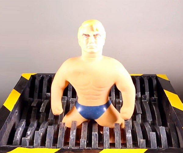 Stretch Armstrong Gets Shredded