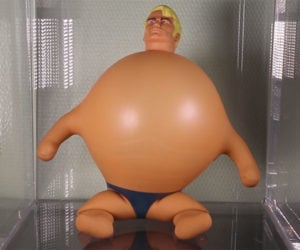 Stretch Armstrong Gets Swole