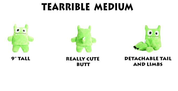 Tearribles Plush Dog Toys
