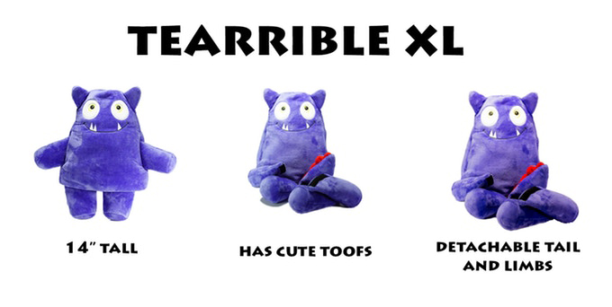 Tearribles Plush Dog Toys