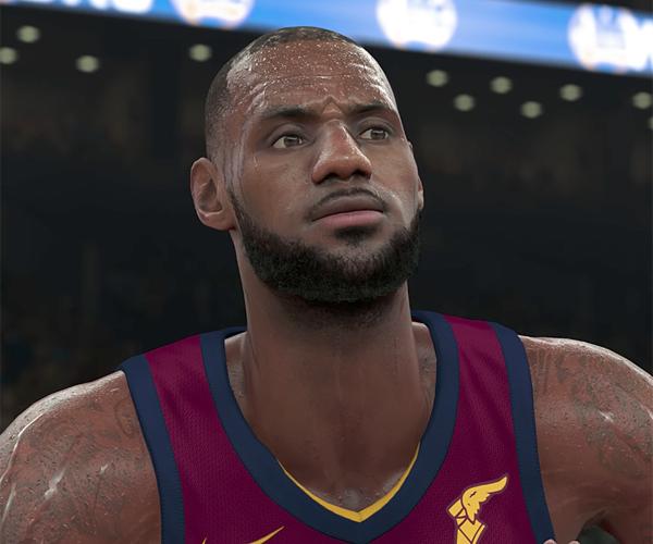 The Art Behind NBA 2K18
