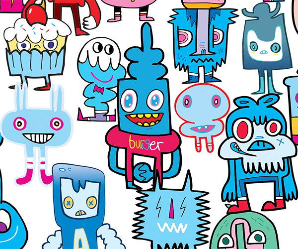 The Story of Jon Burgerman