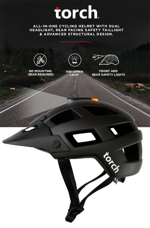 Torch M1 Bicycle Helmet