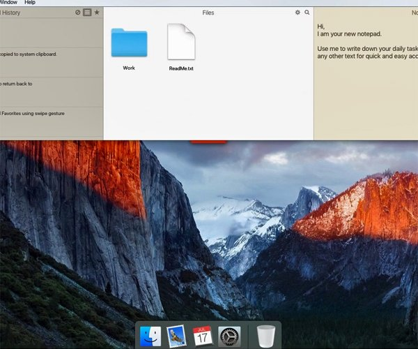 Unclutter for Mac