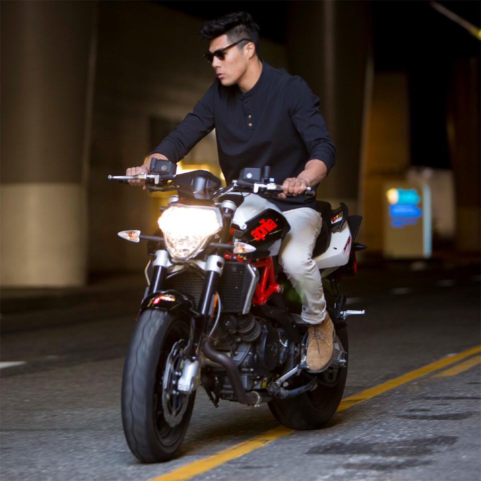 Vktre Henley Motorcycle Shirt