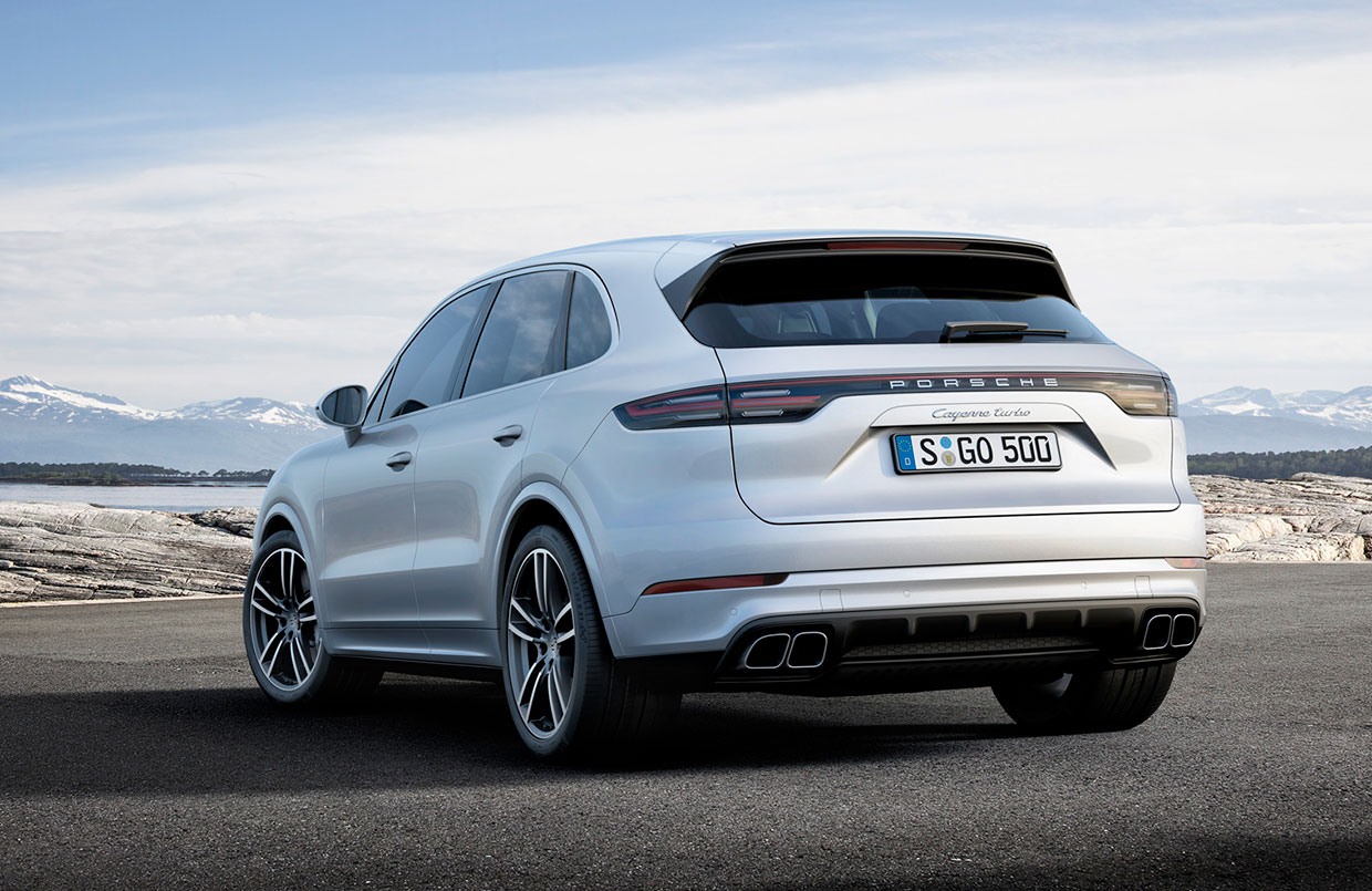 2019 Porsche Cayenne Turbo Gains Horsepower Torque
