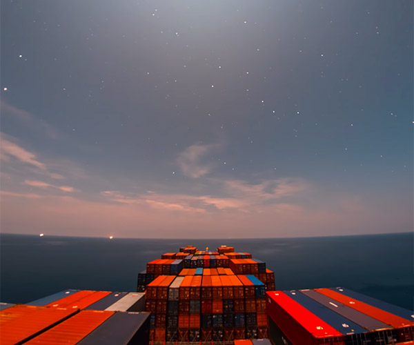 30 Day Time-lapse at Sea
