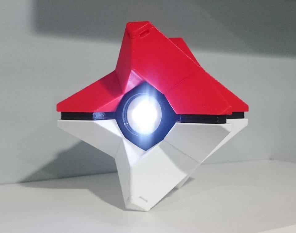 3D Printed Destiny Ghost Replicas