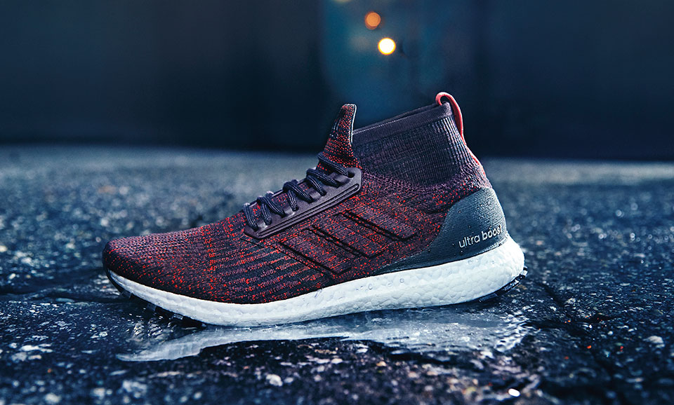 273ba031c9f2c The Mid-cut Adidas UltraBoost All Terrain Lets You Run in Any Weather
