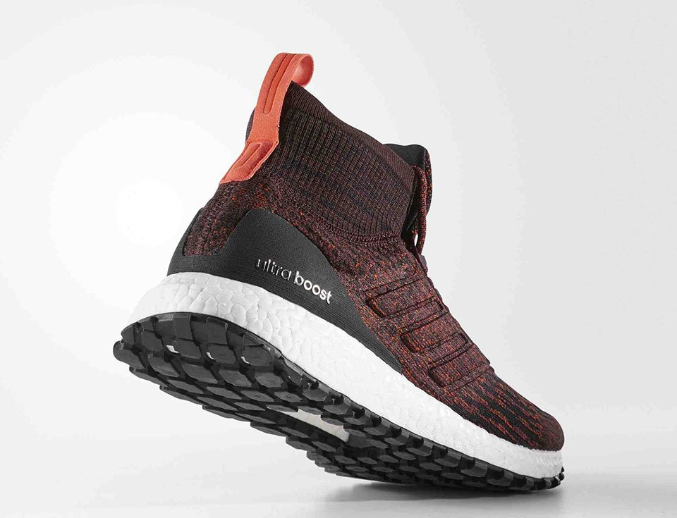 the mid cut adidas ultraboost all terrain lets you run in. Black Bedroom Furniture Sets. Home Design Ideas