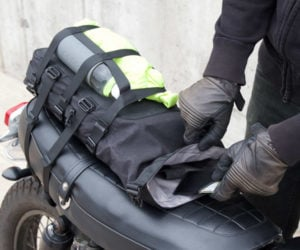 Alms Motorcycle Tail Bag