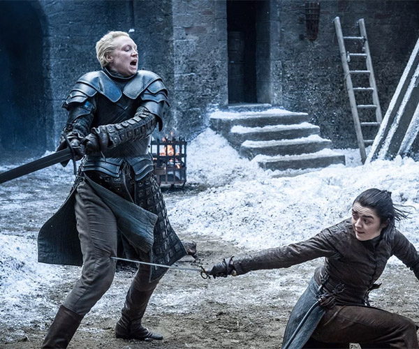 Arya vs. Brienne: Behind the Scenes