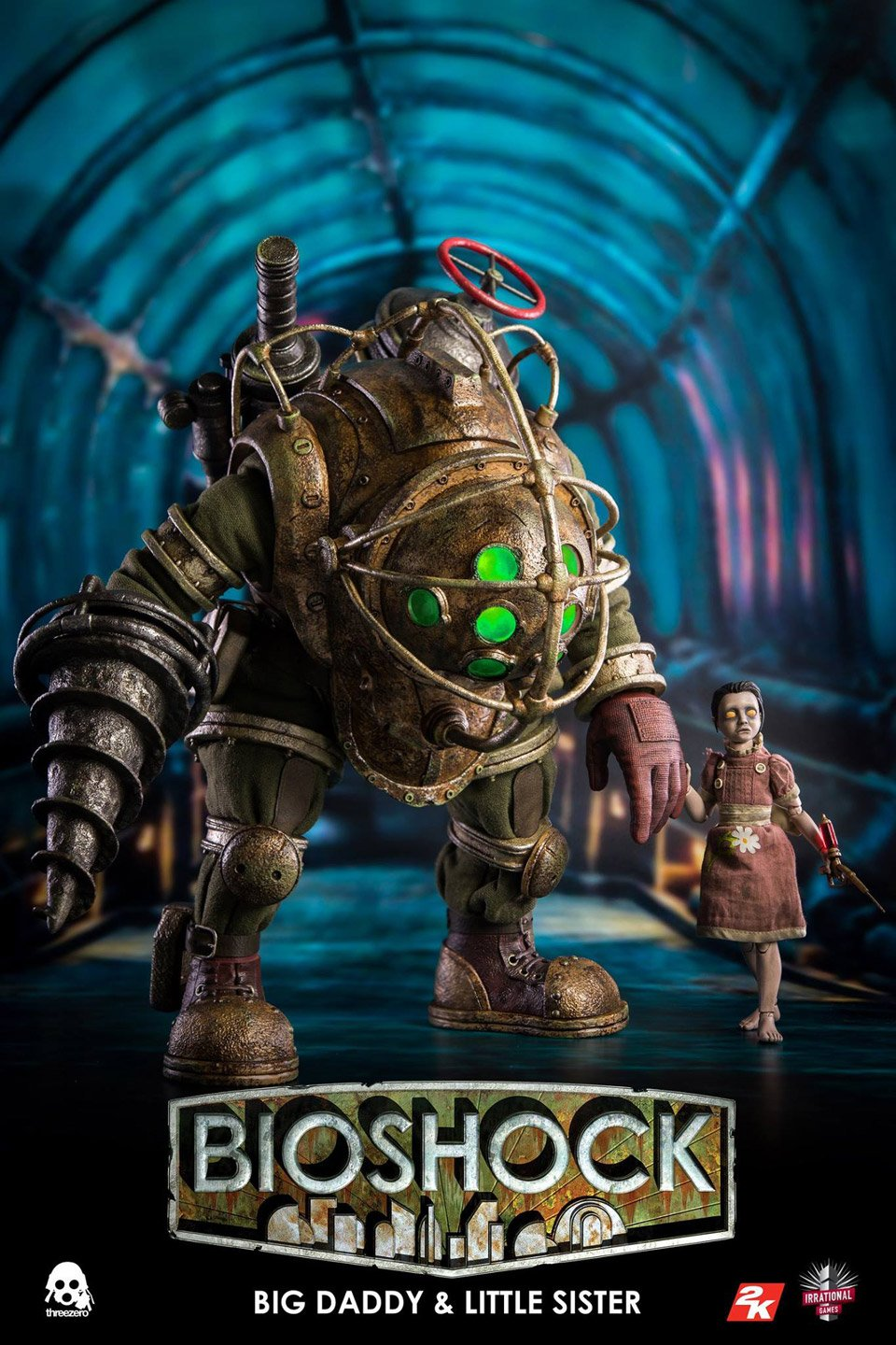 BioShock Big Daddy/Little Sister Figures