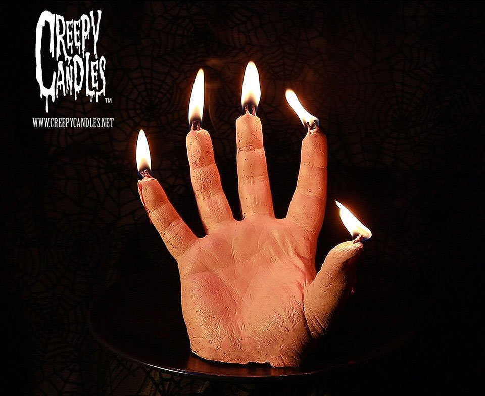 This Creepy Hand-Shaped Candle Is the Perfect Halloween ...