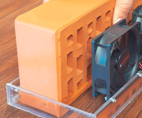 Making an Air Conditioner from a Brick