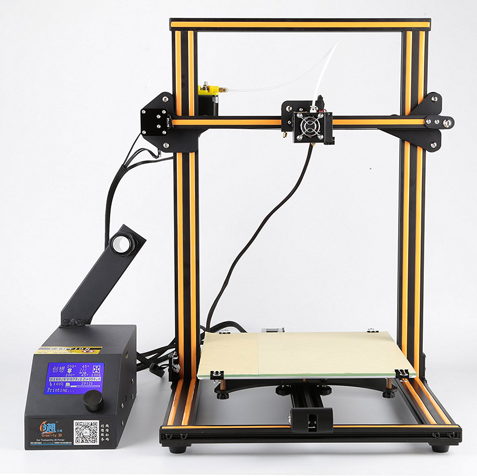 The Creality CR-10 Is A Giant 3D Printer For Less Than $500