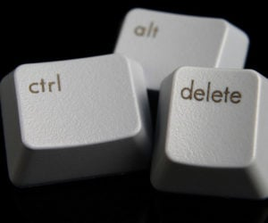 Why Ctrl-Alt-Delete?