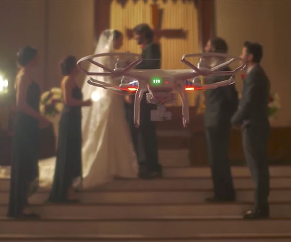 Wedding Dronetography