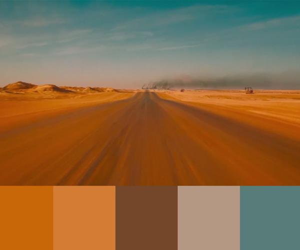 Film Color Palettes