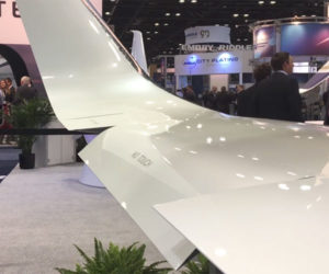 FlexSys Morphing Airplane Wing