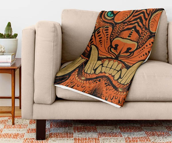Foo Dog Blanket