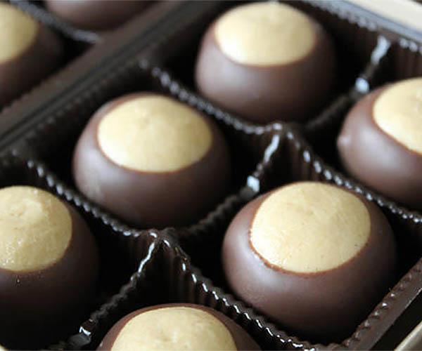 Handmade Buckeye Candy