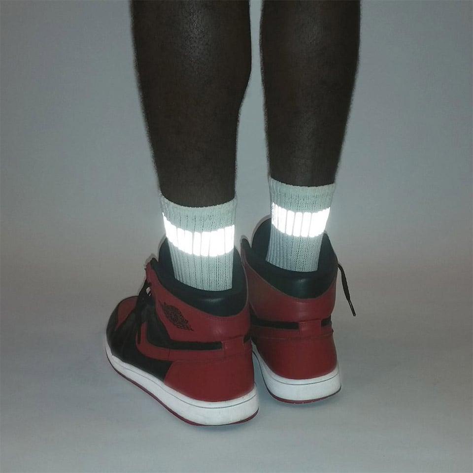 Heisel 3M Reflective Stripe Socks