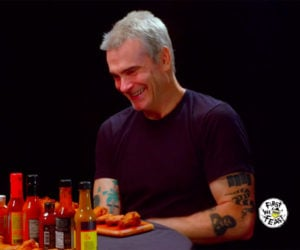 Henry Rollins vs. Hot Wings