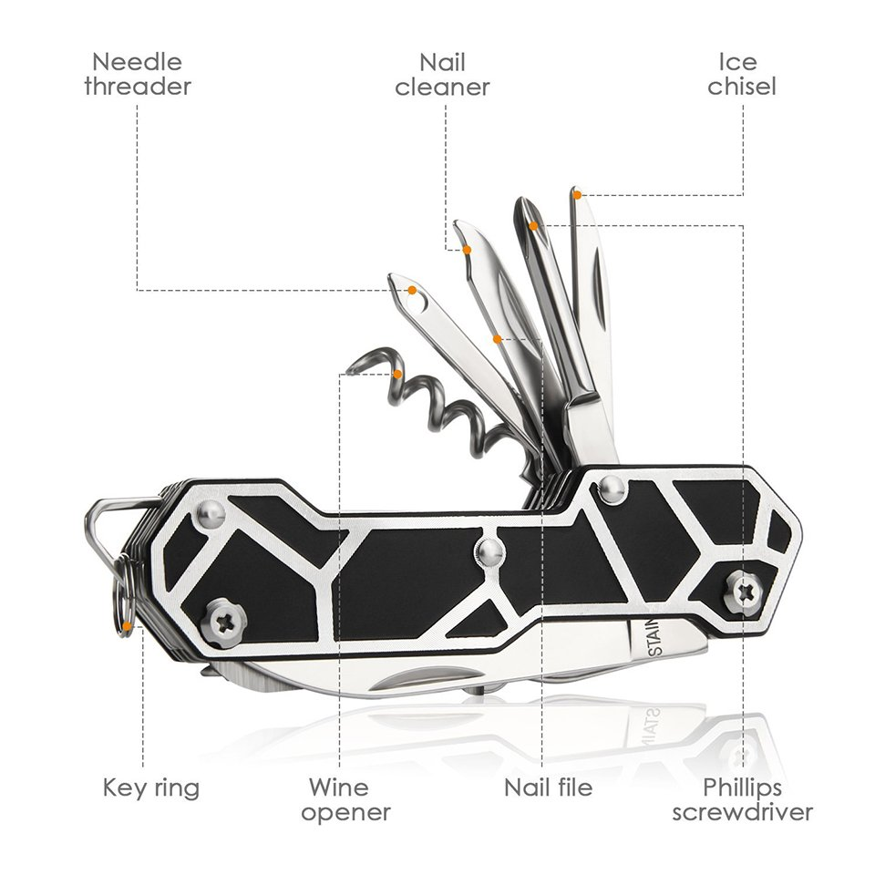 Intey Multitool Pocket Knife