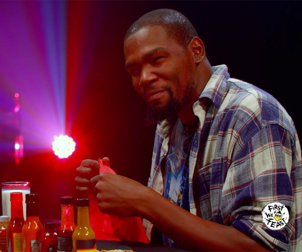 Kevin Durant vs. Hot Wings