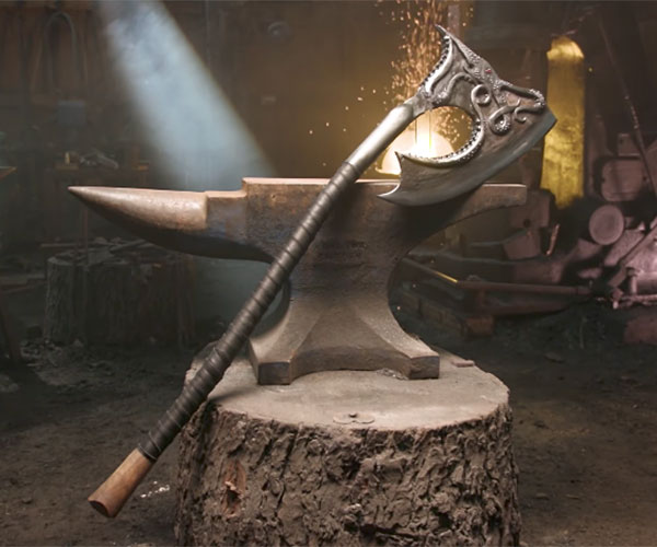 Making Euron Greyjoy's Axe