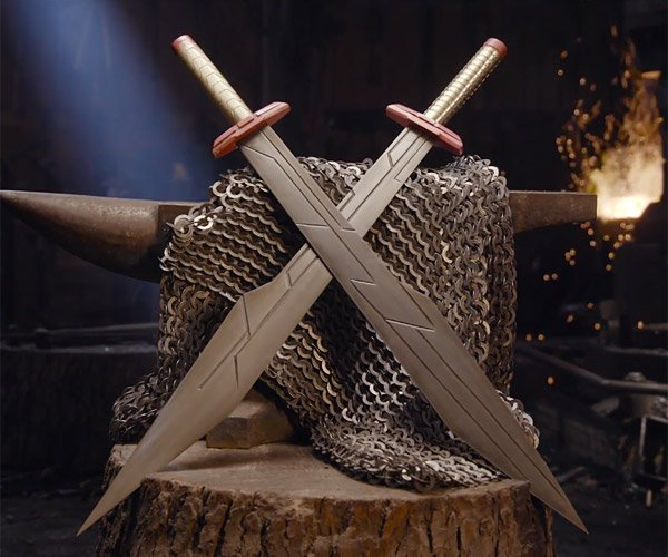 Making Thor's Ragnarok Swords