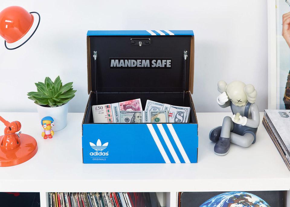 Mandem Safe Shoebox Safe