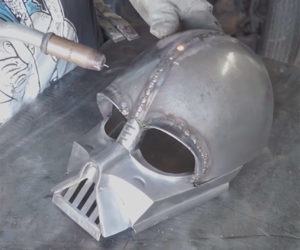 Building a Metal Darth Vader Helmet