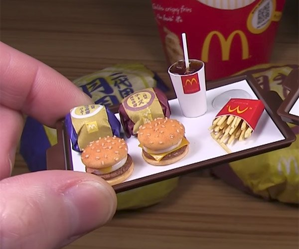 Making Mini McDonald's Meals