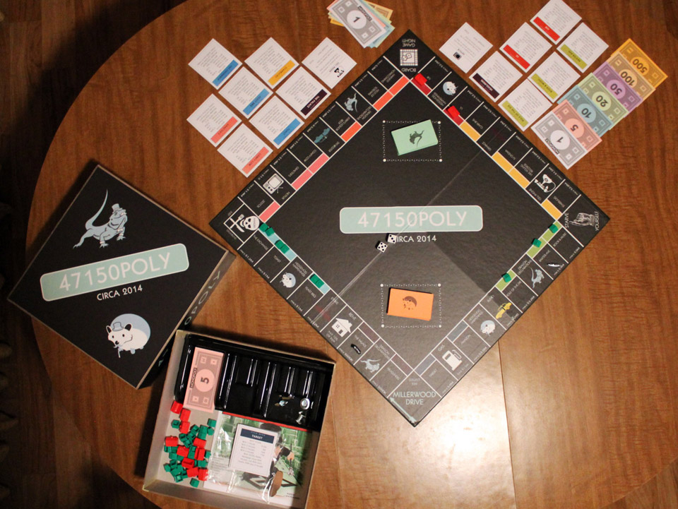 Personalized Monopoly Board Game