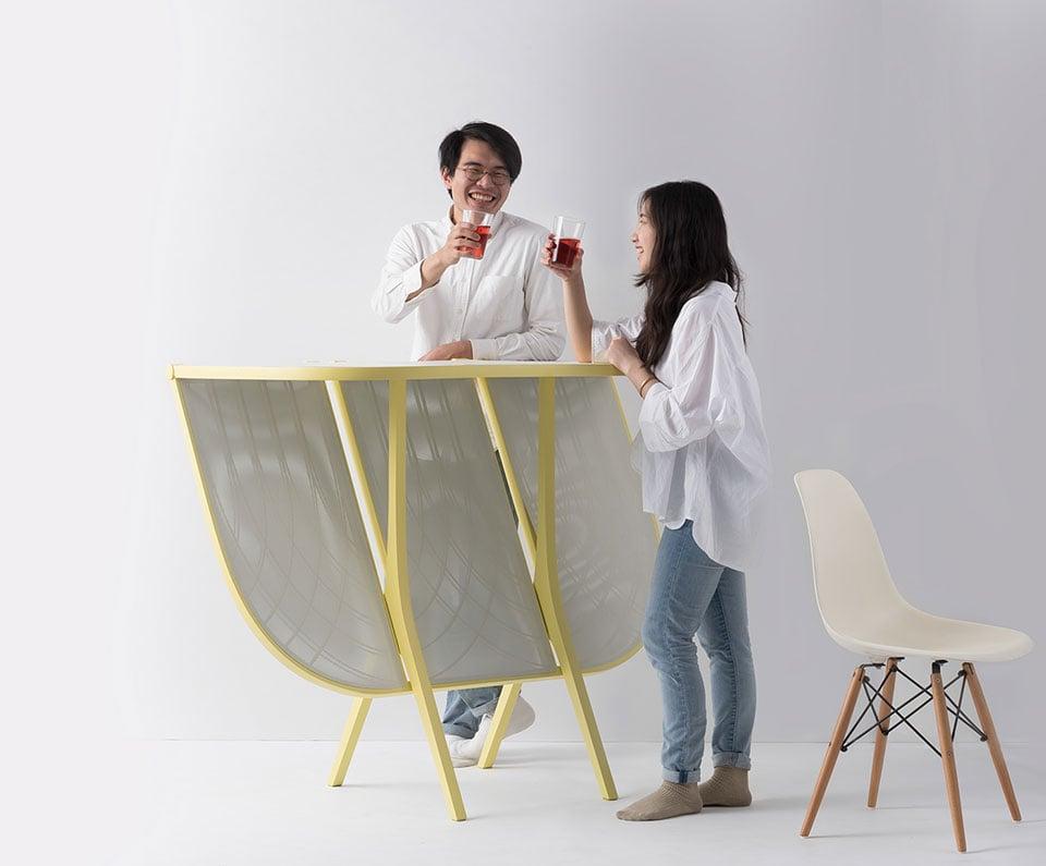 Plier Divider & Bar Table Concept