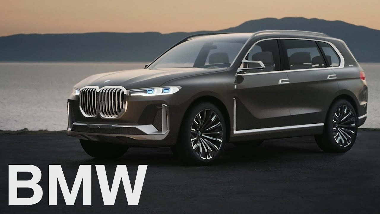 Bmw Enters The Mega Suv Niche With The X7 Concept Iperformance