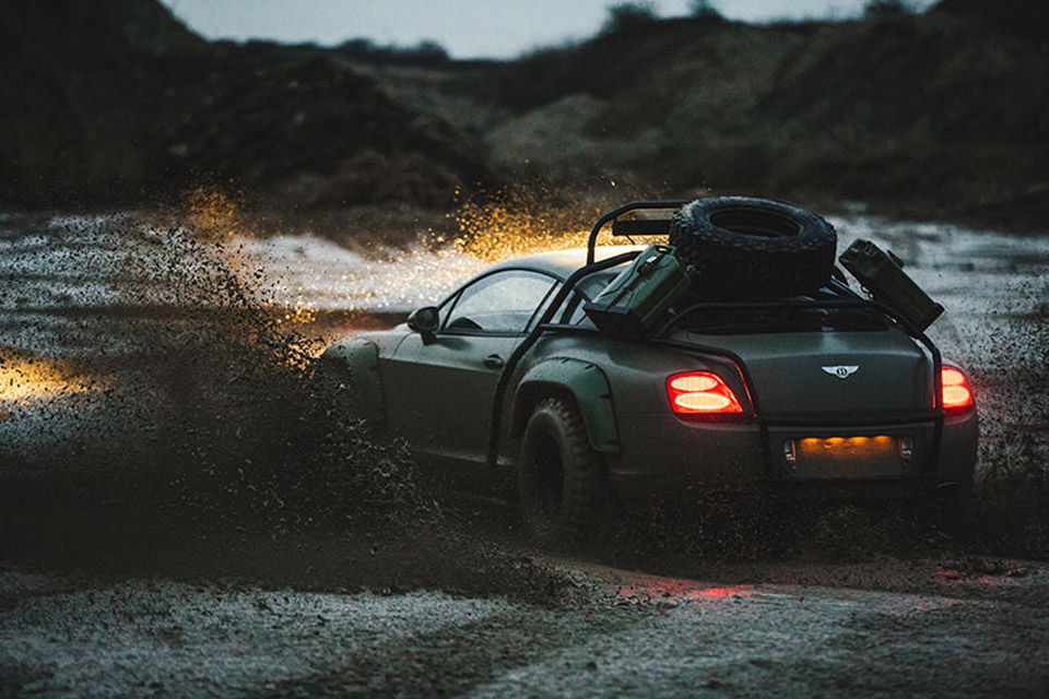 Rally Bentley Continental GT