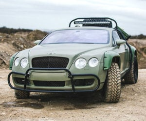 Rally Bentley Continental GT