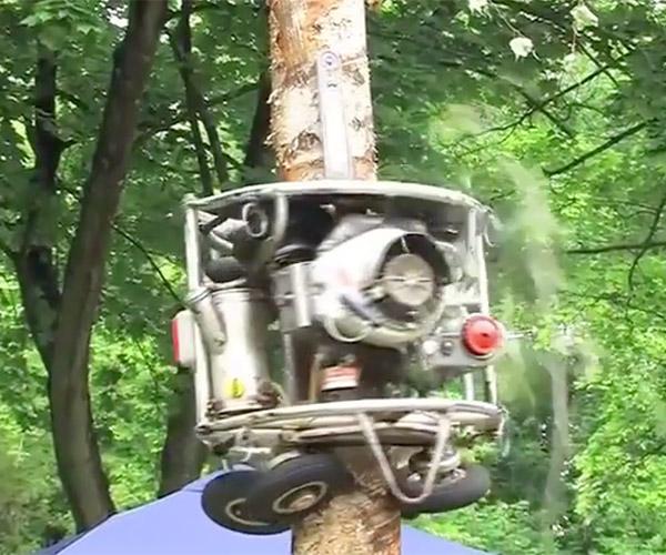 Tree-trimming Robot