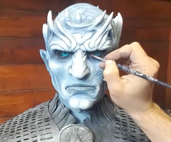 Sculpting the Night King