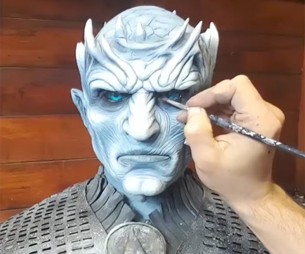 Sculpting the Night King