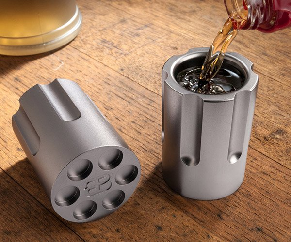 Six Shooter Shot Glasses