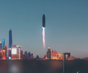 SpaceX BFR Intercontinental Rocket